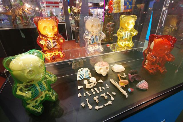 Gummi Bear Anatomy Toys By Jason Freeny