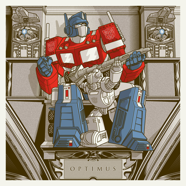 Optimus by Joshua Budich
