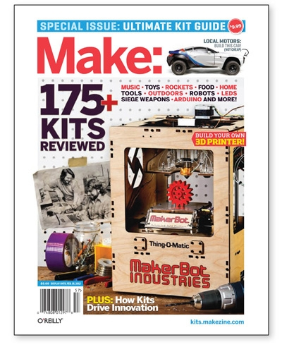 Make: Ultimate Kit Guide 2012