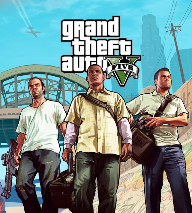 Grand Theft Auto V by Rockstar Games
