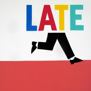 Running Late Print by Steve Powers