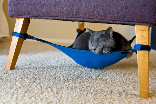 Cat Crib A Hammock For Cats That Fits Inconspicuously