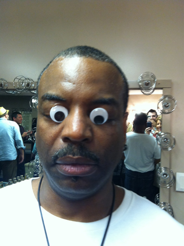 Levar Burton in Googly Eyes