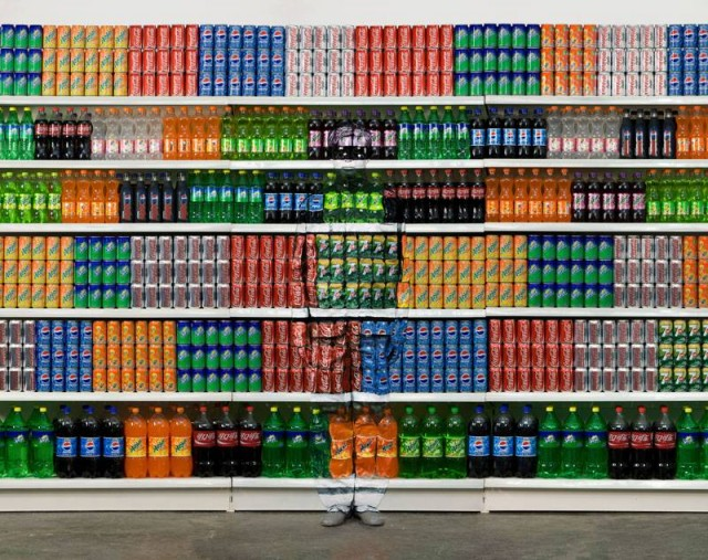 Invisible Man Series by Liu Bolin