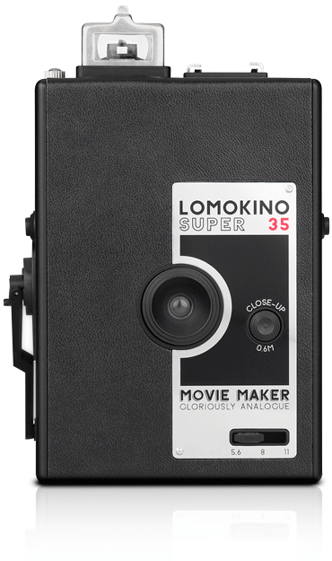 Lomokino windup 35mm movie camera
