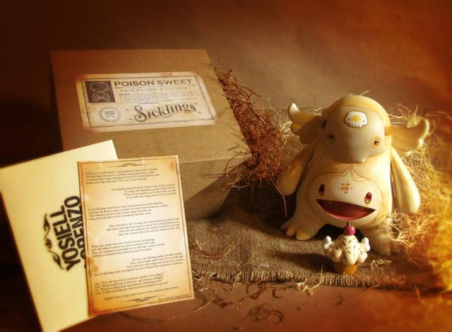 Sicklings -Poison Sweet- Albino by Yosiell Lorenzo