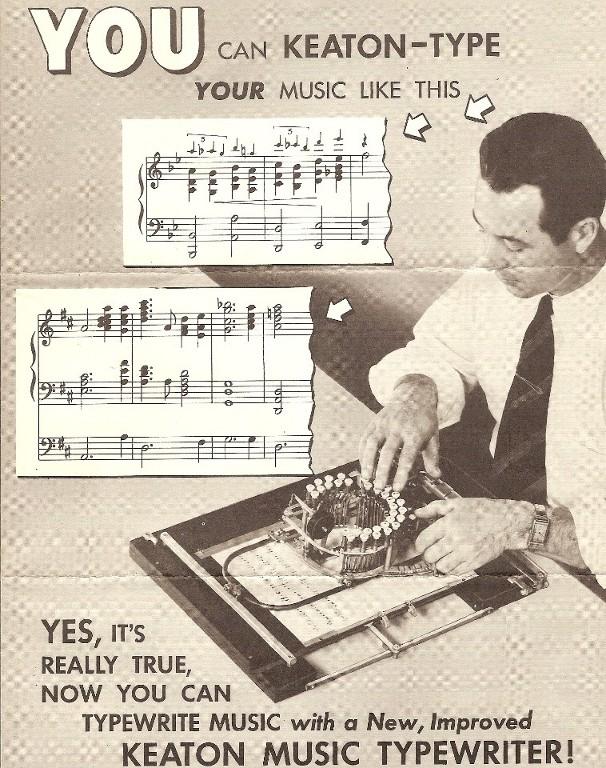Keaton Music Typewriter