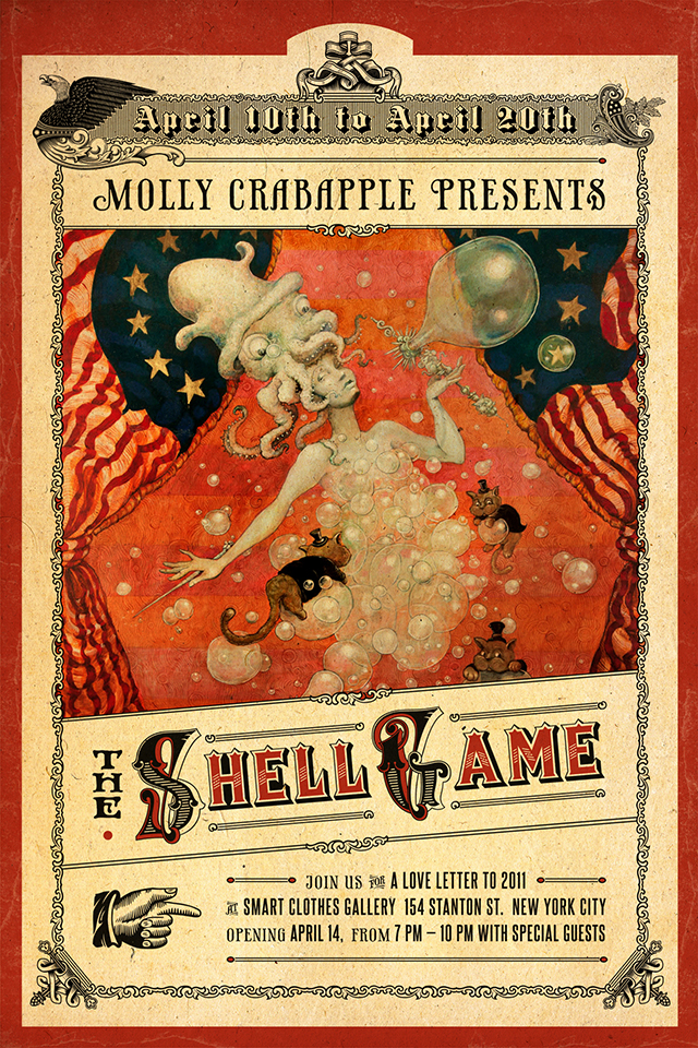 Shell Game by Molly Crabapple