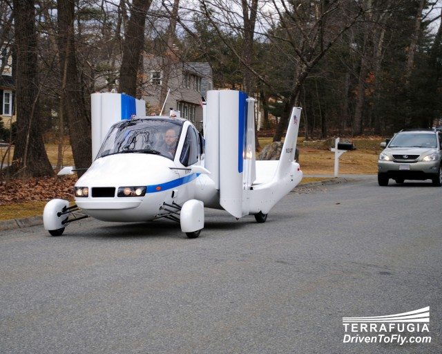 Terrafugia Transition flying car