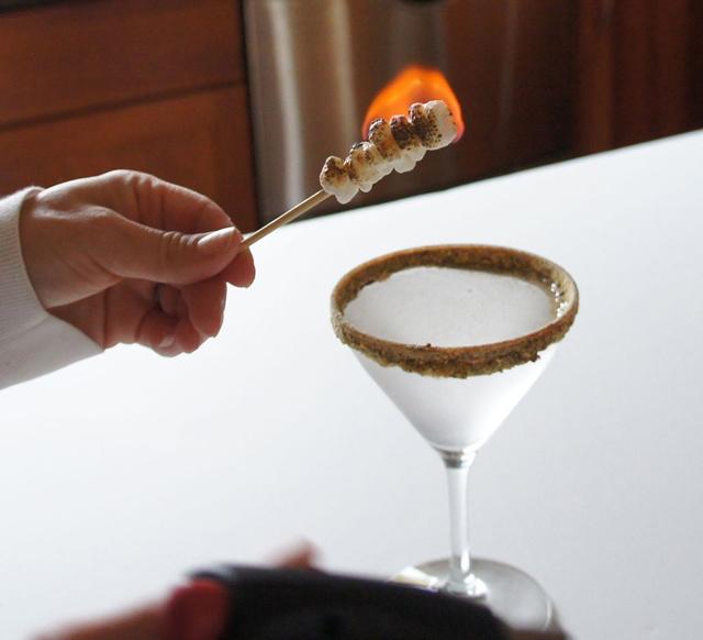 S'more Martini