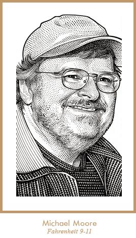 Wall Street Journal Hedcut Stipple Portraits By Randy Glass