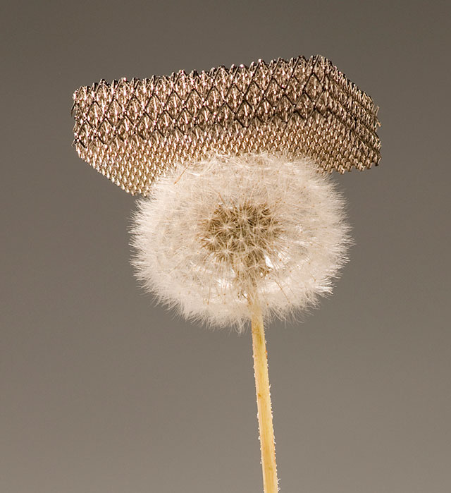 Micro-lattice, world's lightest material