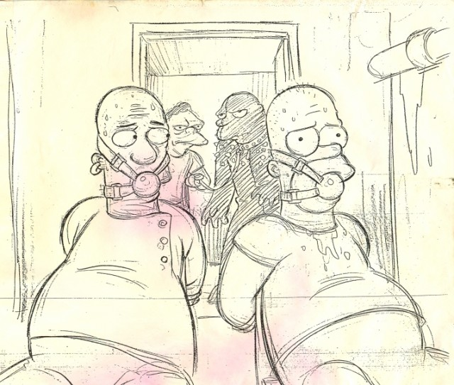 Pulp Fiction meets The Simpsons
