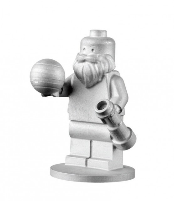 LEGO Figurines in Space