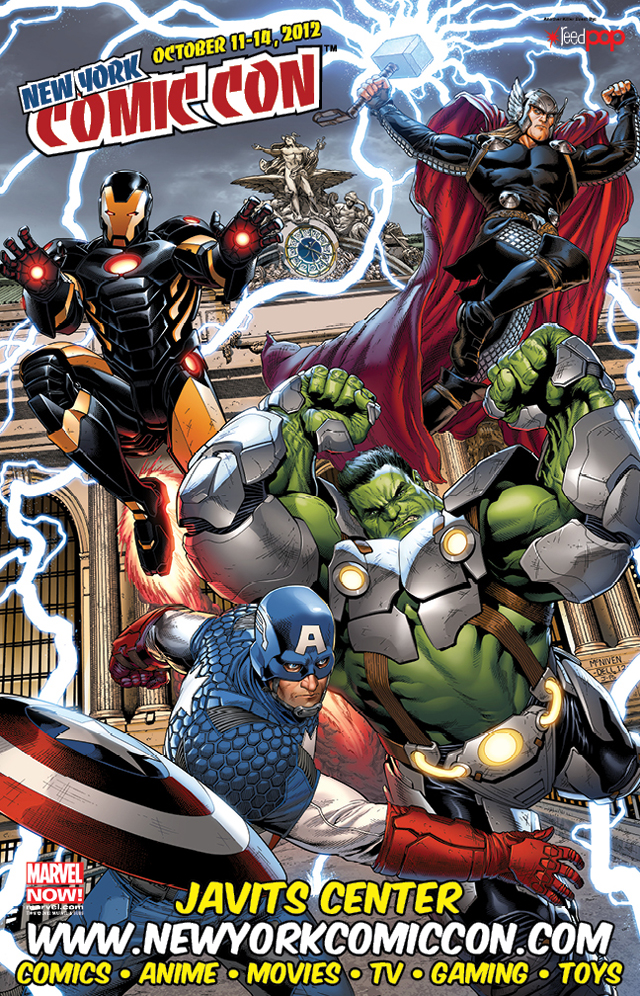 New York Comic Con 2012 Poster by Steve McNiven & Justin Ponsor