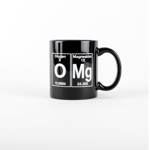 Periodic Table Themed Omg Coffee Mug