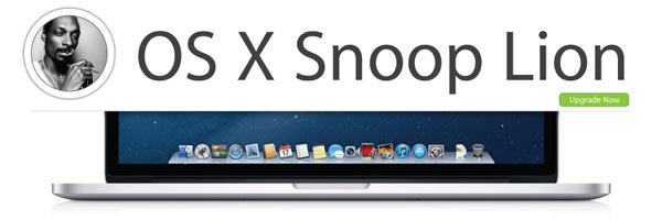 OS X Snoop Lion