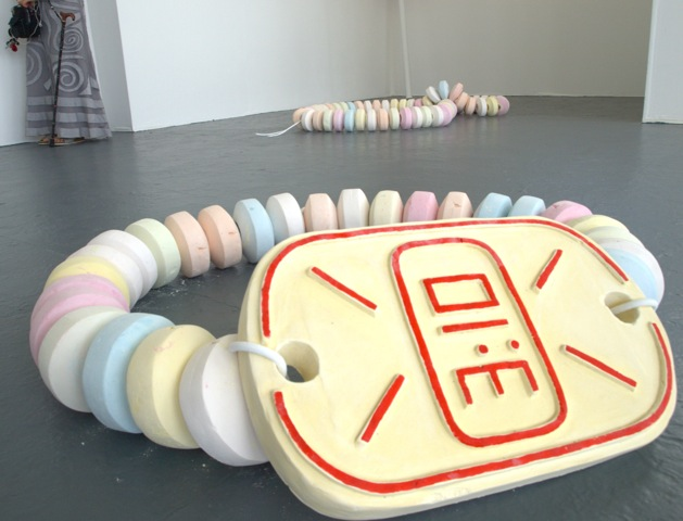 Giant candy sculptures by Nicola Freeman