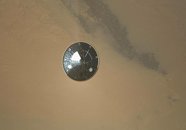 Curiosity's Heat Shield in Detail