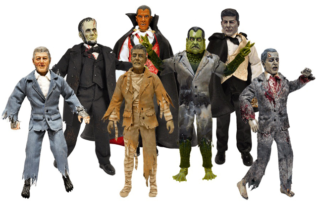 Presidential Monsters, Action Figures Portray U.S. Presidents as ...