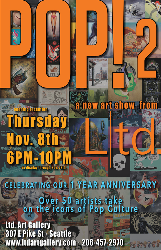POP! 2: The Art of Pop Culture Returns Poster
