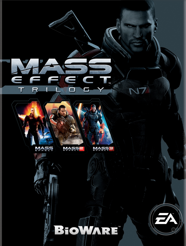 Mass Effect Trilogy Cover - BioWare