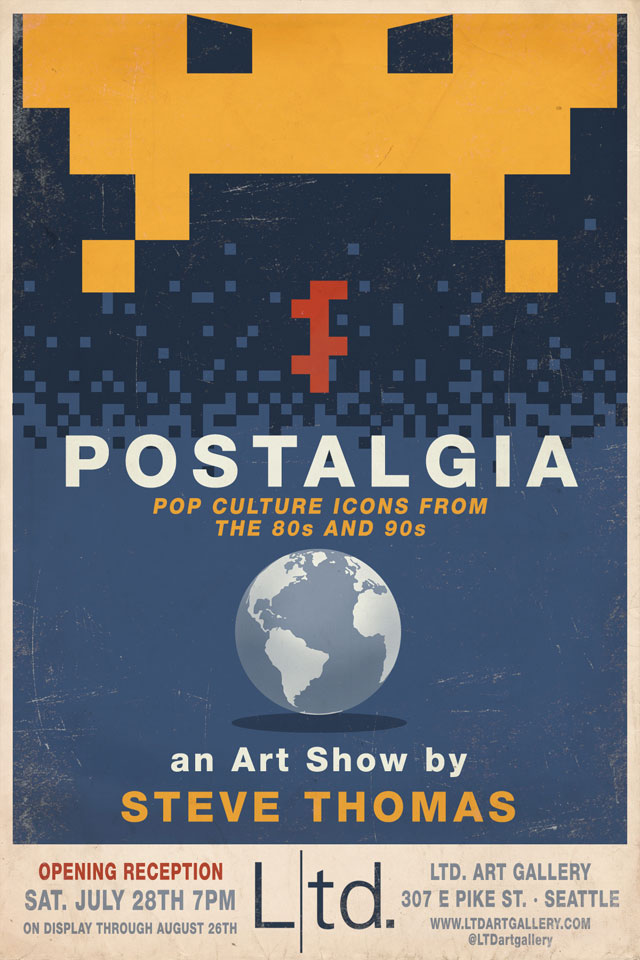 POSTALGIA - Stop The Invasion by Steve Thomas
