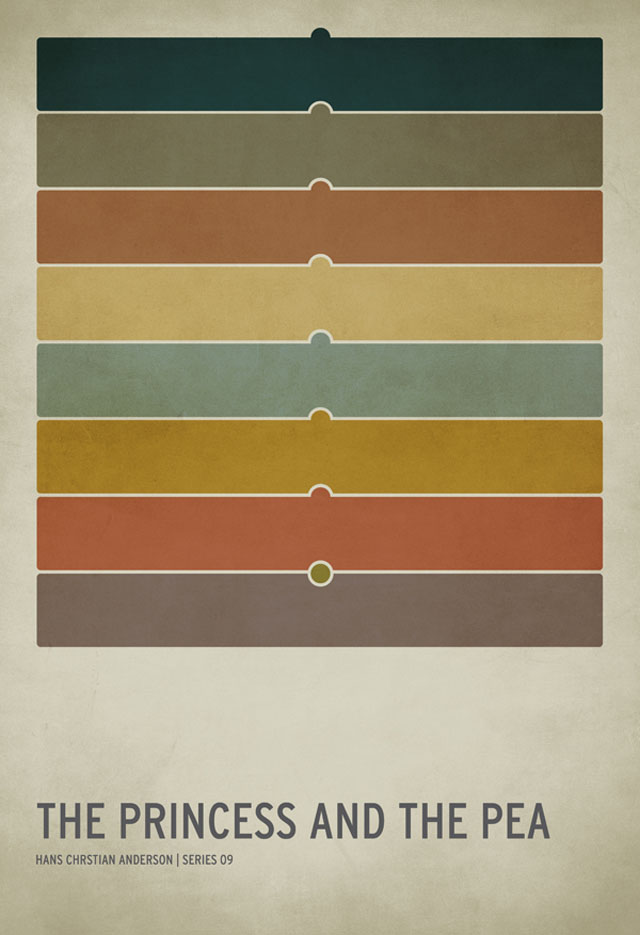 Minimalistic Children's Book Posters by Christian Jackson