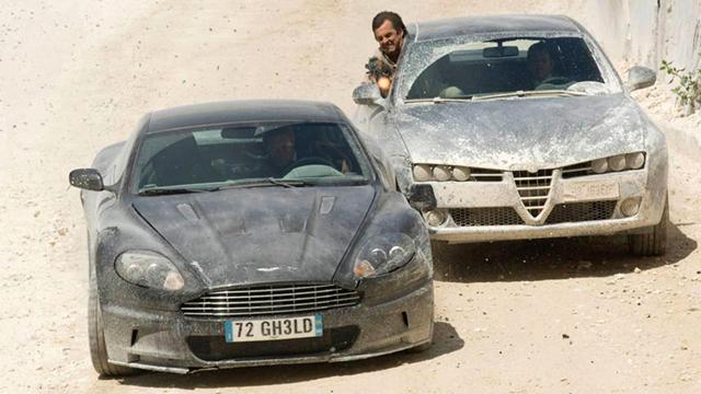 Sky Movies: James Bond Car Chase