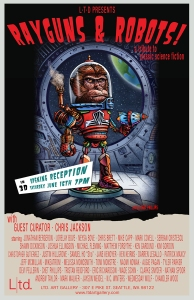 Rayguns and Robots Poster
