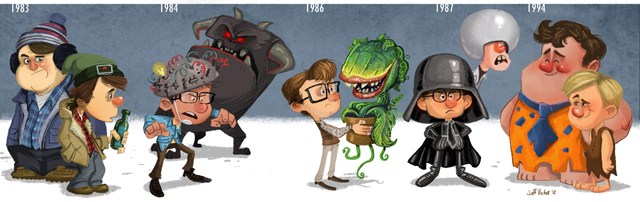Rick Moranis Evolution