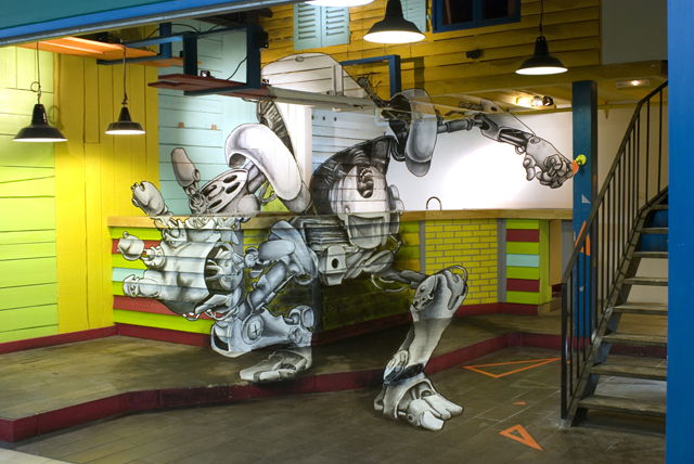 """""""Robot"""" by TSF crew"""