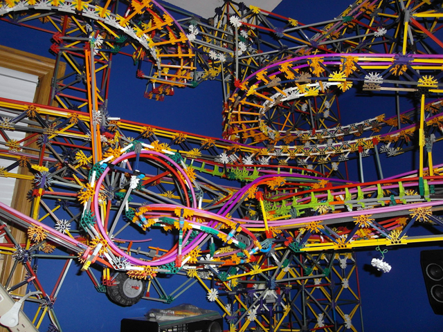 Clockwork - K'NEX Ball Machine by Austin Granger
