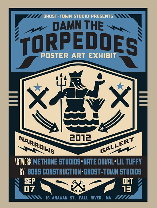 Damn The Torpedoes by Peter Cardoso of Ghost-Town Studio