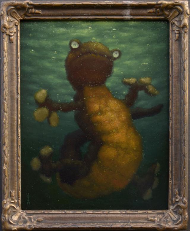 Salamander by Joachim Knill
