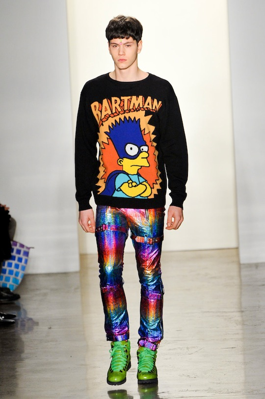 1990s Retro Pop Culture Fashion From Designer Jeremy Scott