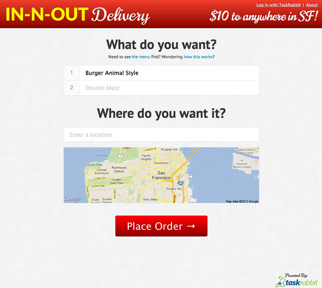 In-N-Out Delivery
