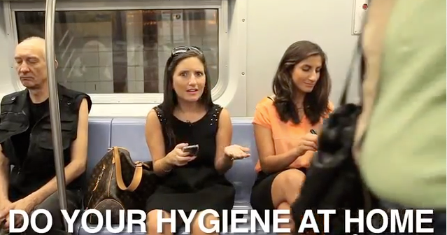 Do your hygiene at home