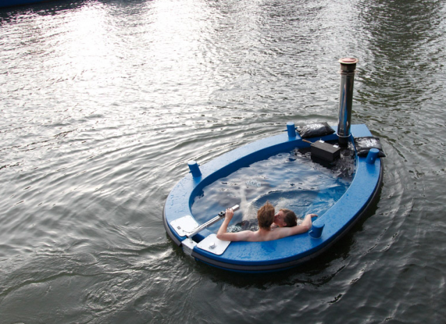 HotTug is a unique 6-8 person boat that is designed to function as a