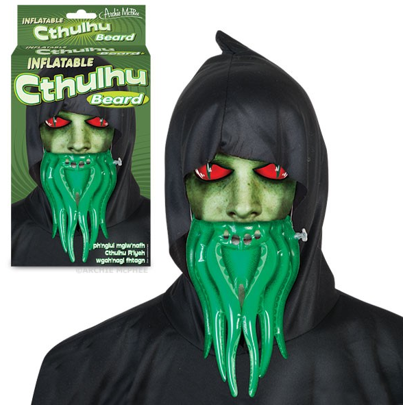 Inflatable Cthulhu Beard, Inflatable Evil From Another Dimension