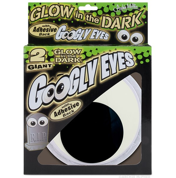 Glow in the Dark Googly Eyes