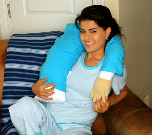 The Boyfriend Pillow To Feel The Hug Of A Man On Lonely