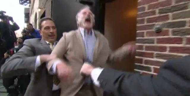 Bill Murray getting Tasered