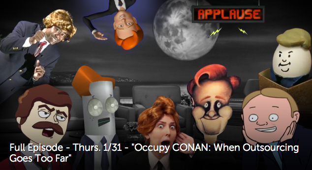 Occupy Conan
