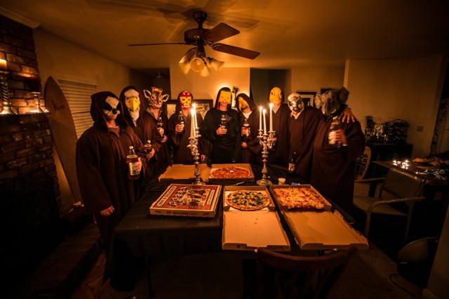 Secret Society Pizaa Delivery Prank