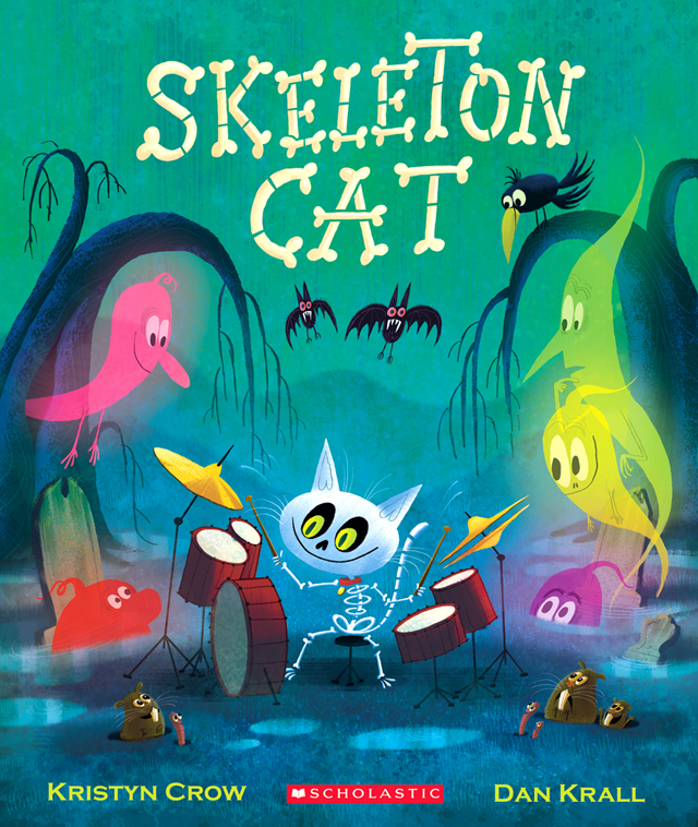 Skeleton Cat Original Cover
