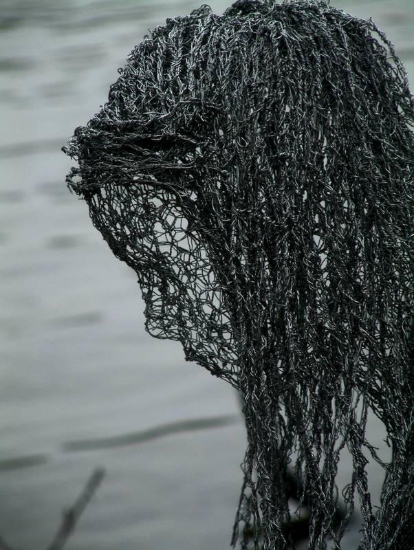 Wire Mesh Sculpture | Beautiful Wire Mesh Sculptures By Derek Kinzett