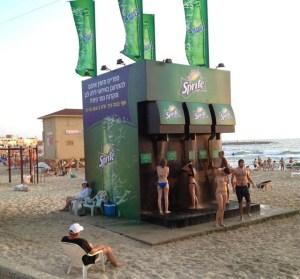 Sprite Beach Shower