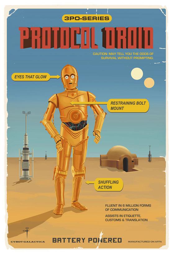 Protocol Droid by Steve Thomas