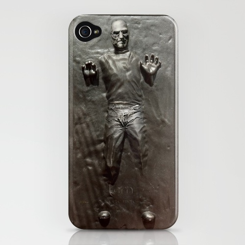 Steve Jobs in Carbonite by Greg Koenig